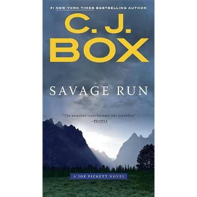 Savage Run - (Joe Pickett Novel) by  C J Box (Paperback)