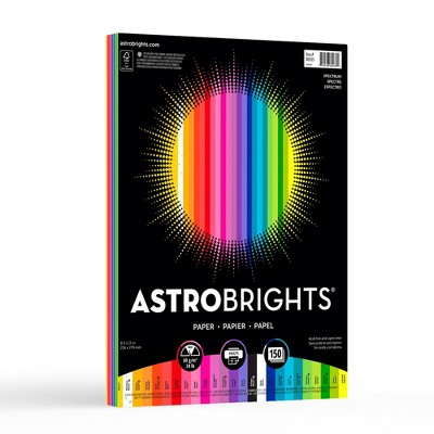 Astrobrights 150ct Colored Printer Paper - Spectrum