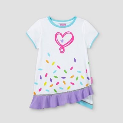 Girls' JoJo Siwa Short Sleeve Graphic T-Shirt - White