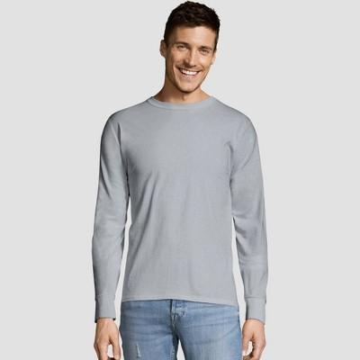 Hanes Men's Long Sleeve 4pk Comfort Soft Crew T-Shirt