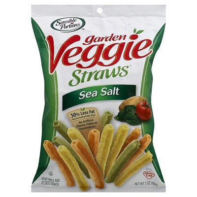 Sensible Portions Sea Salt Garden Veggie Straws - 7oz