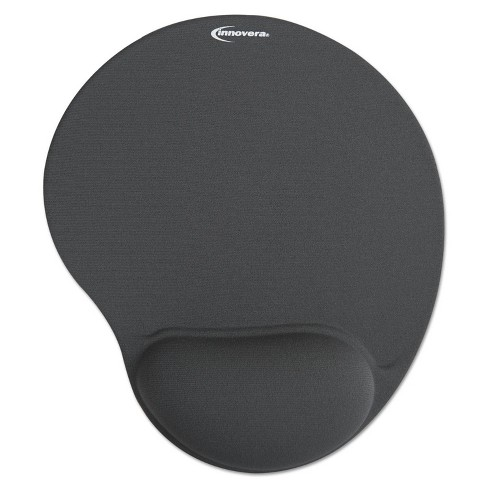 Innovera Mouse Pad w/Gel Wrist Pad Nonskid Base 10-3/8 X 8-7/8 Gray - image 1 of 2