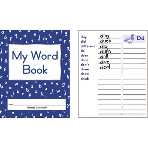 Primary Concepts My Word Book, set of 20 - image 1 of 1