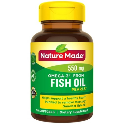 Vitamins & Supplements: Nature Made Fish Oil Pearls