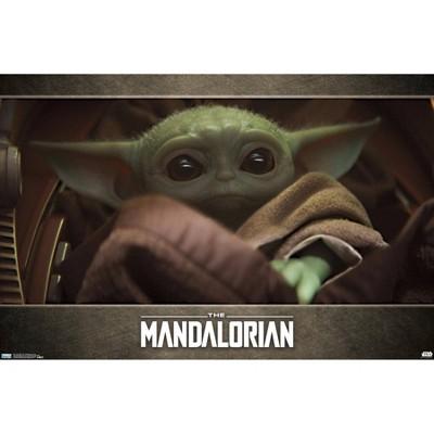 Star Wars: The Mandalorian - Eyes (Baby Yoda) Premium Poster
