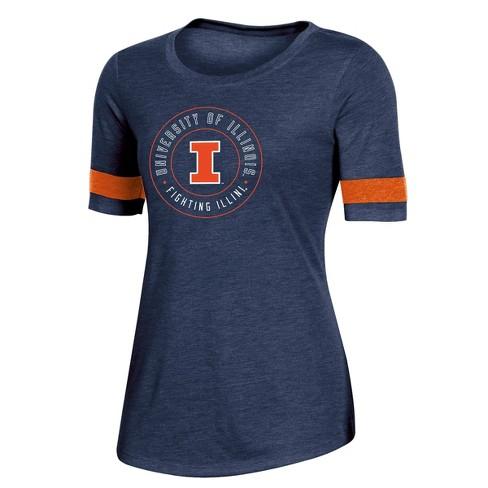 NCAA Illinois Fighting Illini Women's Short Sleeve Crew Neck T-Shirt - image 1 of 2