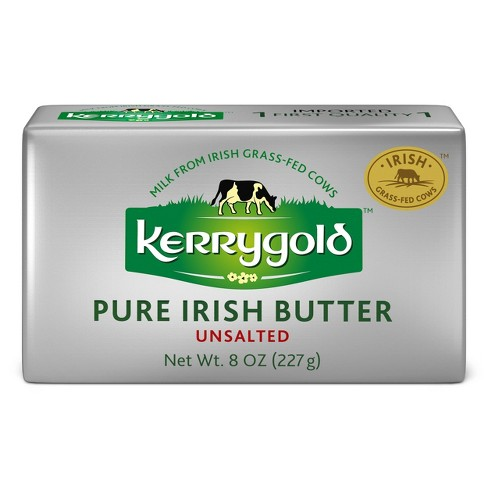 Kerrygold Grass-Fed Pure Irish Unsalted Butter - 8oz Foil - image 1 of 4