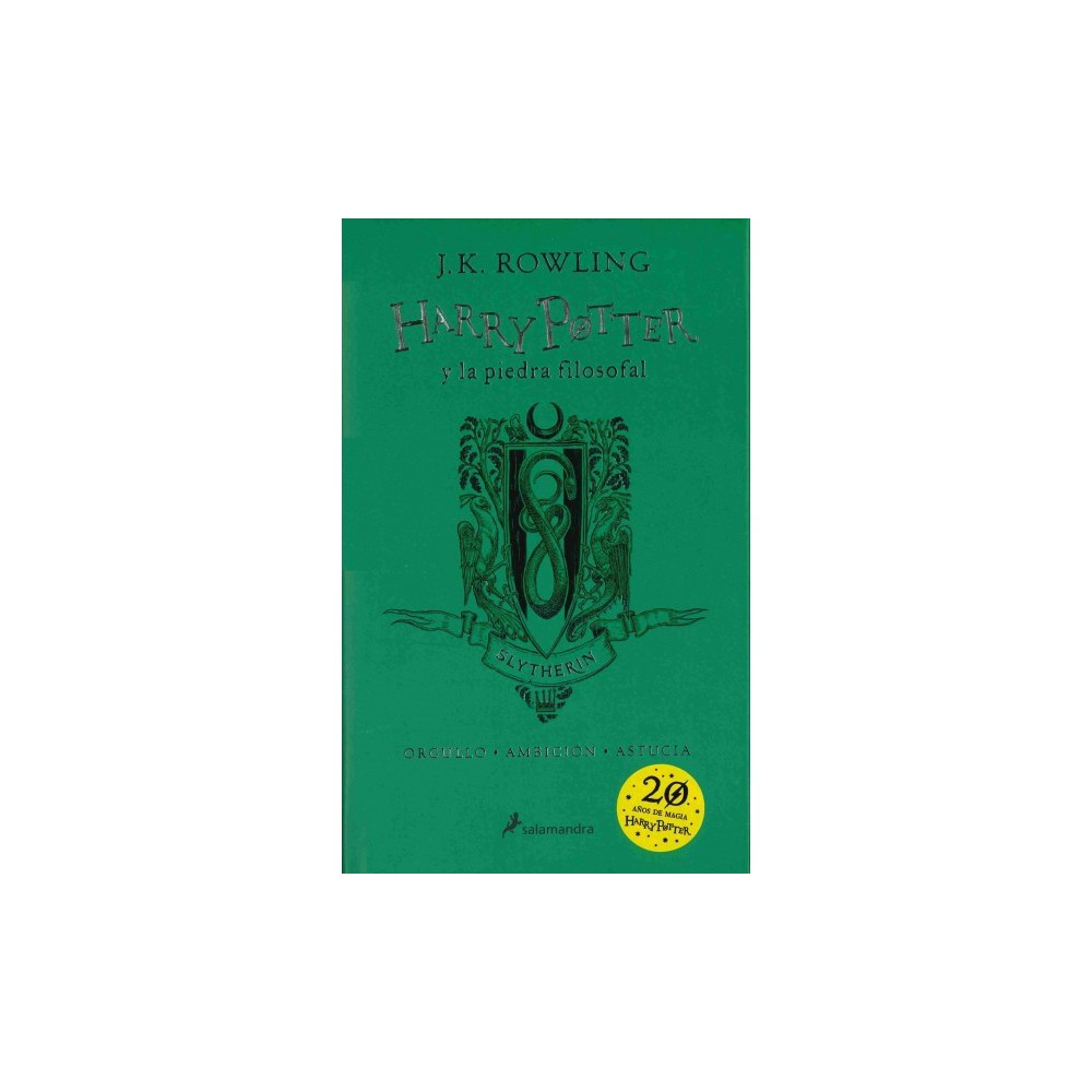 Harry Potter y la piedra filosofal / Harry Potter and the Philosopher's Stone : Casa Slytherin /