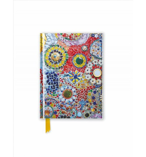 Gaudi Inspired by : Mosaic - Foiled Pocket Journal (New) (Hardcover) - image 1 of 1