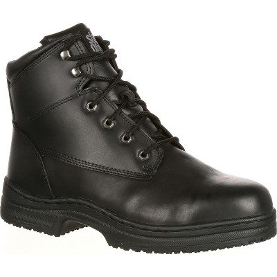 Men's SlipGrips Steel Toe Slip-Resistant Work Boot
