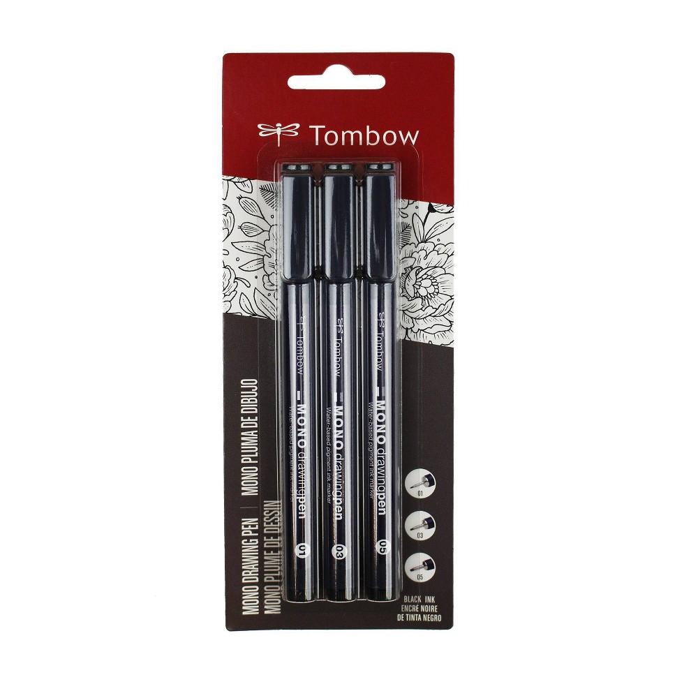 Image of 3ct Pen Set MONO Drawing Black