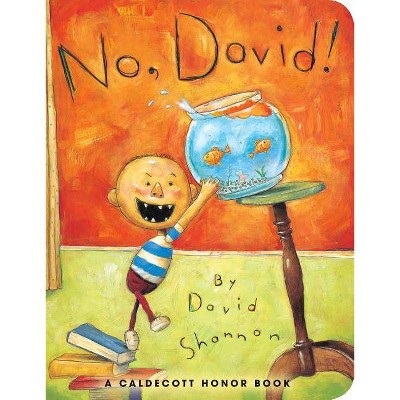 No, David! - by David Shannon (Hardcover)