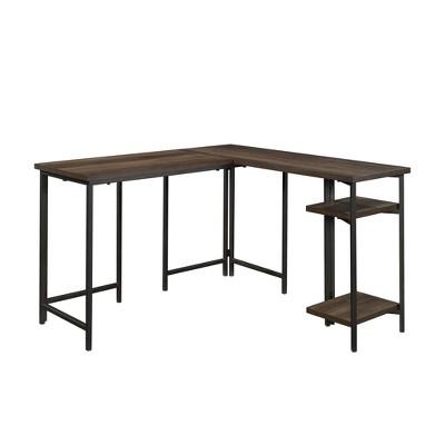 North Avenue L-Shaped Desk with Storage - Sauder
