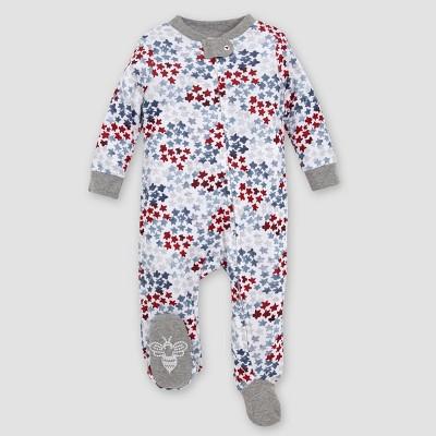 Burt's Bees Baby® Baby Organic Cotton Starry Night Sky Sleep N' Play - White 0-3M