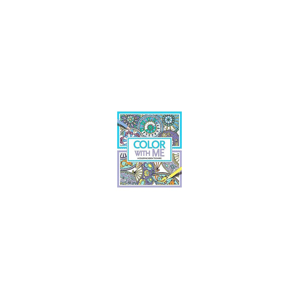 Color With Me Adult Coloring Book