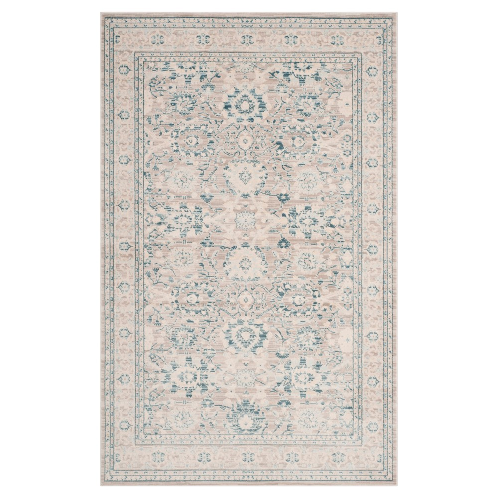 Archive Rug - Gray/Blue - (4'x6') - Safavieh