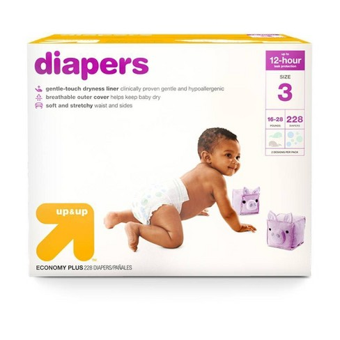 Diapers - up & up™ - (Select Size and Count) - image 1 of 4