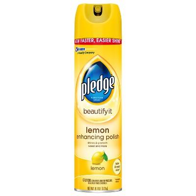 Pledge Lemon Enhancing Polish - 9.7oz