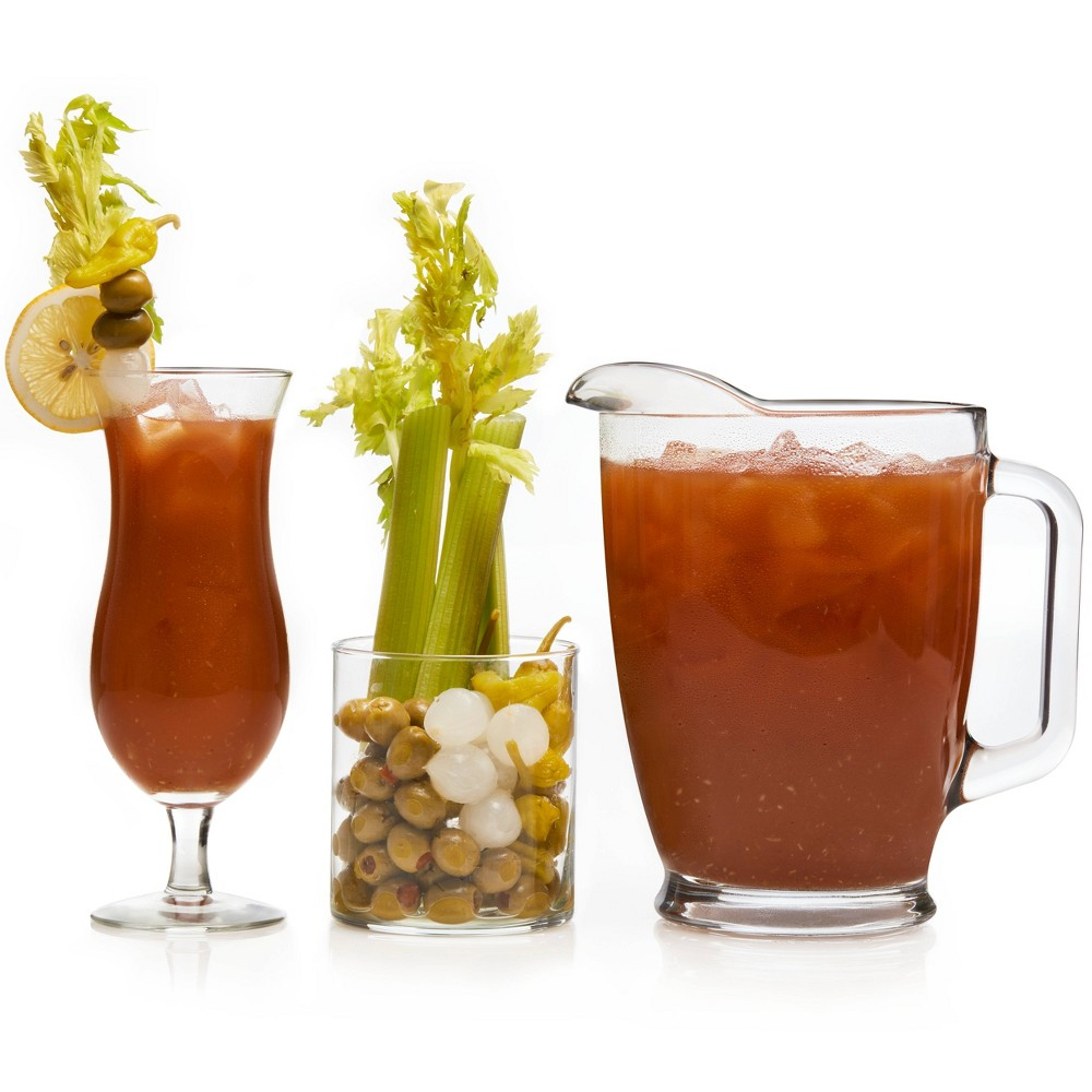 Image of Libbey Modern Bar Assorted Bloody Mary Glass Entertainment - 10pc Set