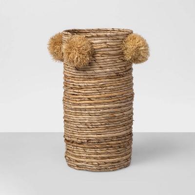 "15"" x 7"" Decorative Woven Vase Brown - Opalhouse™"