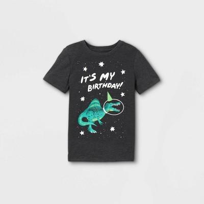 Boys' Birthday Short Sleeve Graphic T-Shirt - Cat & Jack™