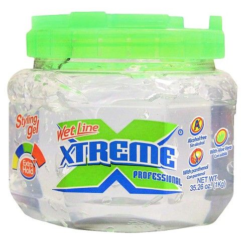 wet line xtreme pro styling gel clear 35 28oz target