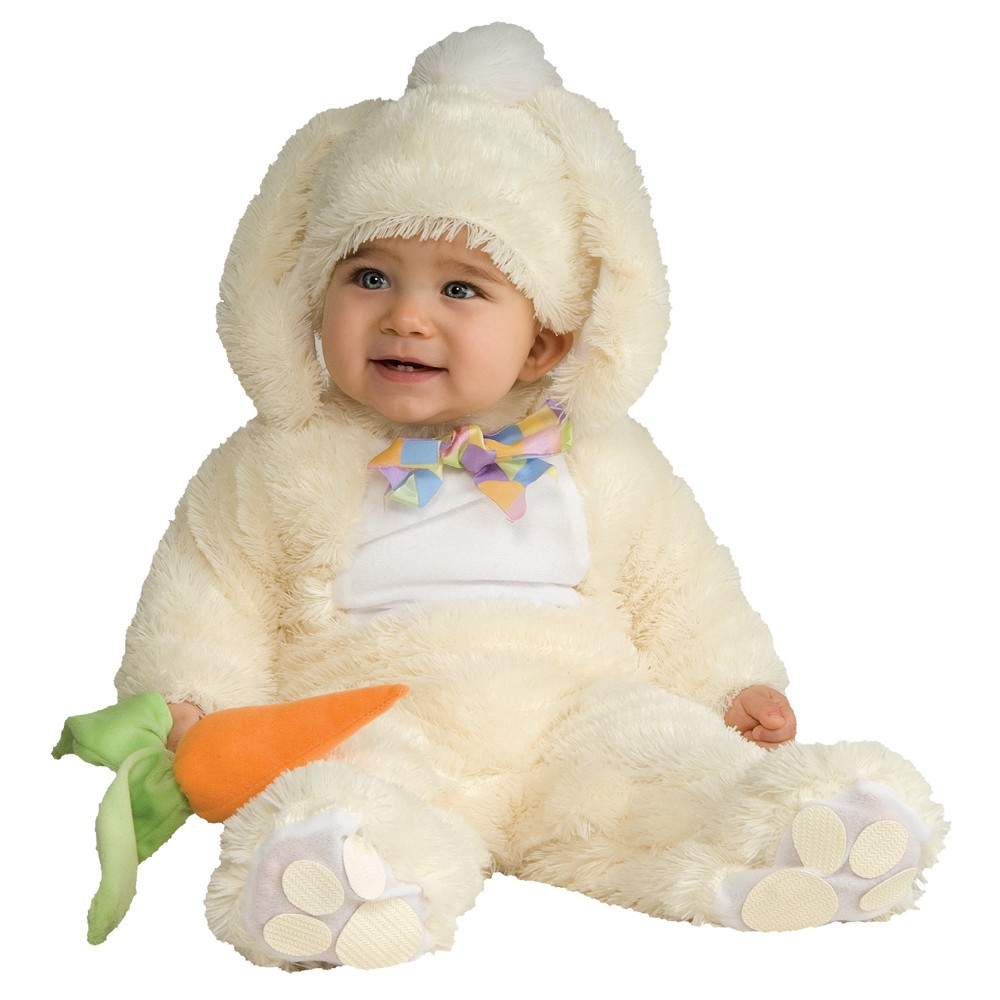 Image of Halloween Toddler Vanilla Bunny Costume 6-12 M, Adult Unisex, Size: 6-12M, MultiColored