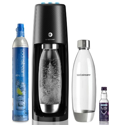 SodaStream One Touch Black Bundle with Bubly