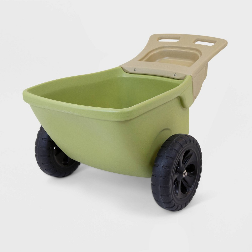 Image of Simplay3 Easy Haul Wheelbarrow Green