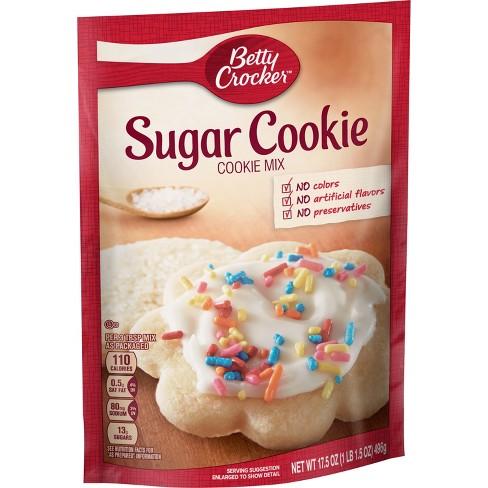 Betty Crocker Sugar Cookie Mix - 17.5oz - image 1 of 4