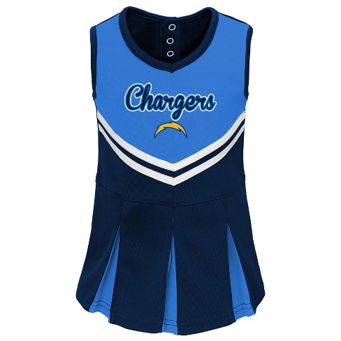 afaa731be47 Los Angeles Chargers Infant-Toddler In The Spirit Cheer Set 18 M ...
