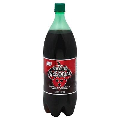 Sangria Senorial Sparkling Soda 1.5 L Bottle