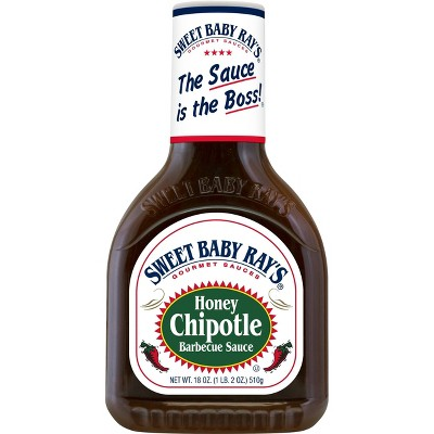 Sweet Baby Ray's Honey Chipotle Barbecue Sauce - 18oz