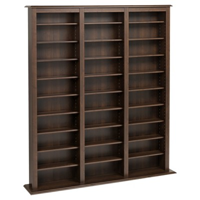 Jackson Media Storage Rack Espresso - Prepac