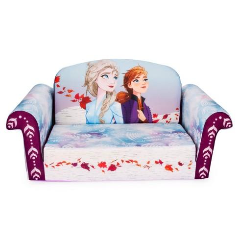 Excellent Marshmallow Frozen 2 Furniture Flip Open Sofa Machost Co Dining Chair Design Ideas Machostcouk