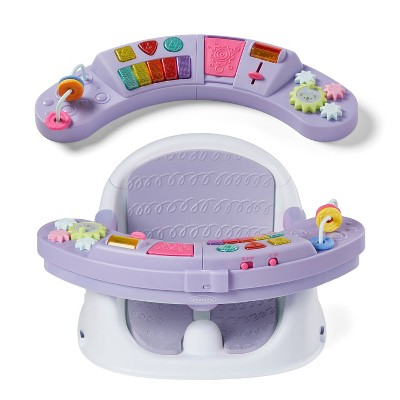 Infantino Music & Lights 3-in-1 Discovery Seat & Booster - Lavendar
