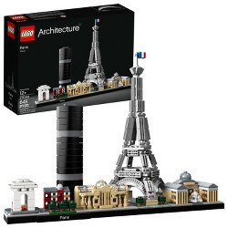 LEGO Architecture Paris City Model Skyline Collectible Building Kit 21044