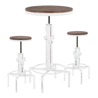 3pc Hydra Industrial Adjustable Bar Set - LumiSource