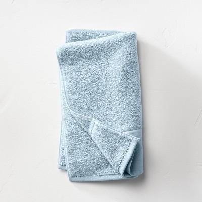 Linen Cuff Hand Towel Light Blue - Casaluna™