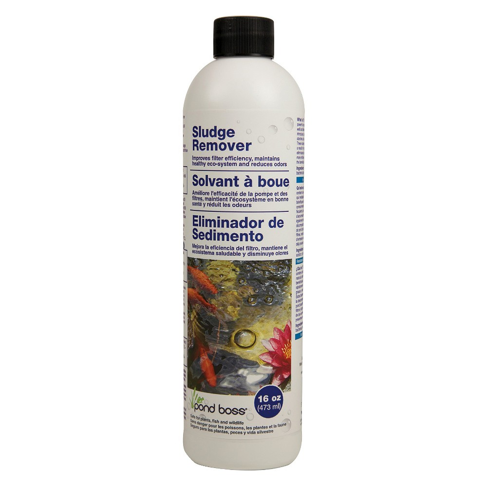 "Image of ""8.69"""" Pond Boss Sludge Remover - 16oz, Clear"""