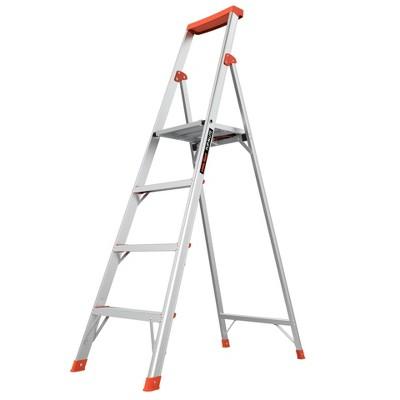 Little Giant Ladder Systems 6' ANSI Type IA 300 lb Aluminum Stepladder Gray