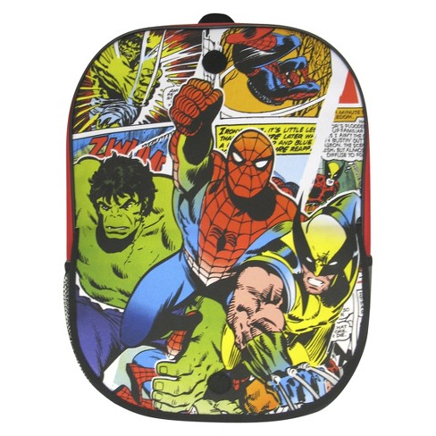 "Marvel 16"" 3D Heroes Kids' Backpack - Multicolored - image 1 of 2"