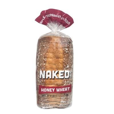 Naked Bread Honey Wheat Sandwich Bread - 22.5oz