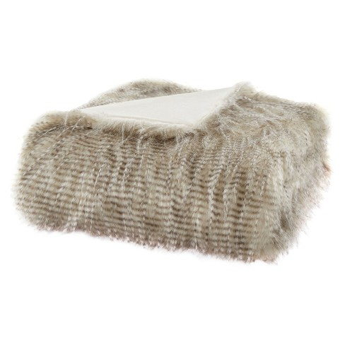 Adelaide Faux Fur Throw - image 1 of 4