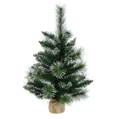 Vickerman Snow Tipped Pine Artificial Christmas Tabletop Tree