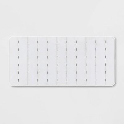 XL Bath Tub Mat White - Made By Design™