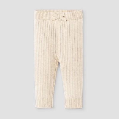Baby Rib Knit Sweater Leggings - Cat & Jack™ Heather Gray 0-3M
