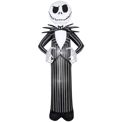 halloween disney jack skellington from nightmare before christmas airblown - Nightmare Before Christmas Inflatable Lawn Decorations