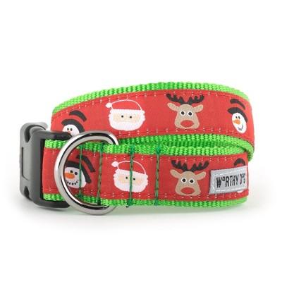 The Worthy Dog Merry Christmas! Dog Collar