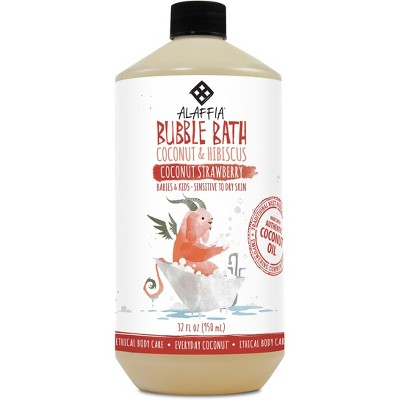 Everyday Coconut Baby Bubble Bath, Coconut Strawberry - 32 Fl Oz